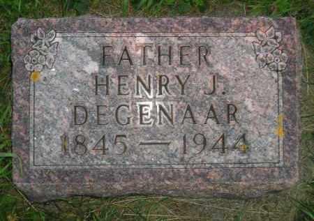 DEGENAAR, HENRY J. - Deuel County, South Dakota | HENRY J. DEGENAAR - South Dakota Gravestone Photos