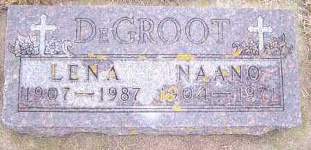 DEGROOT, LENA - Deuel County, South Dakota | LENA DEGROOT - South Dakota Gravestone Photos
