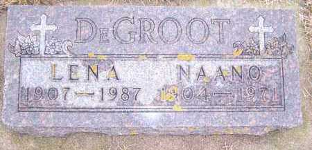DEGROOT, LENA - Deuel County, South Dakota | LENA DEGROOT - South Dakota Gravestone Photos