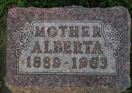 ENGELS, ALBERTA - Deuel County, South Dakota | ALBERTA ENGELS - South Dakota Gravestone Photos