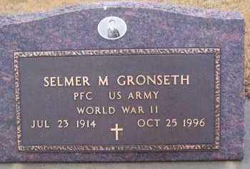 GRONSETH, SELMER M - Deuel County, South Dakota   SELMER M GRONSETH - South Dakota Gravestone Photos