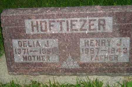 HOFTIEZER, DELIA J. - Deuel County, South Dakota | DELIA J. HOFTIEZER - South Dakota Gravestone Photos