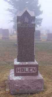 HOLEN, . - Deuel County, South Dakota | . HOLEN - South Dakota Gravestone Photos