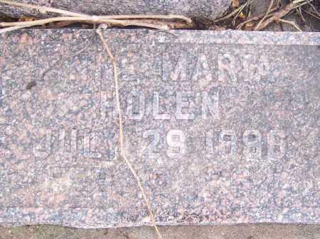 HOLEN, ANNE MARIA - Deuel County, South Dakota | ANNE MARIA HOLEN - South Dakota Gravestone Photos