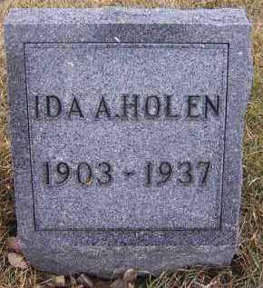 HOLEN, IDA A. - Deuel County, South Dakota | IDA A. HOLEN - South Dakota Gravestone Photos