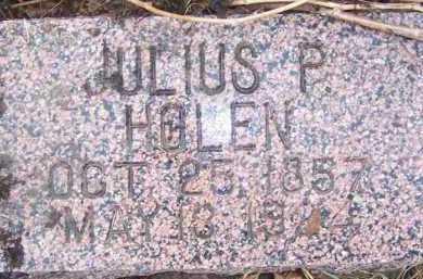 HOLEN, JULIUS P. - Deuel County, South Dakota   JULIUS P. HOLEN - South Dakota Gravestone Photos