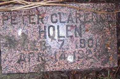 HOLEN, PETER CLARENCE - Deuel County, South Dakota | PETER CLARENCE HOLEN - South Dakota Gravestone Photos