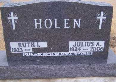 HOLEN, RUTH I. - Deuel County, South Dakota | RUTH I. HOLEN - South Dakota Gravestone Photos