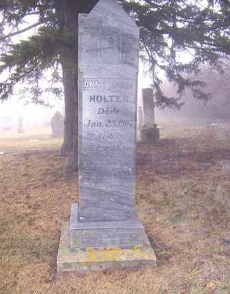 HOLTER, ANNE MARIA - Deuel County, South Dakota   ANNE MARIA HOLTER - South Dakota Gravestone Photos