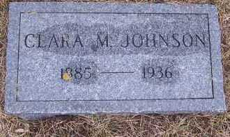 JOHNSON, CLARA M. - Deuel County, South Dakota | CLARA M. JOHNSON - South Dakota Gravestone Photos