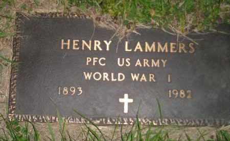 LAMMERS, HENRY (WW I) - Deuel County, South Dakota | HENRY (WW I) LAMMERS - South Dakota Gravestone Photos