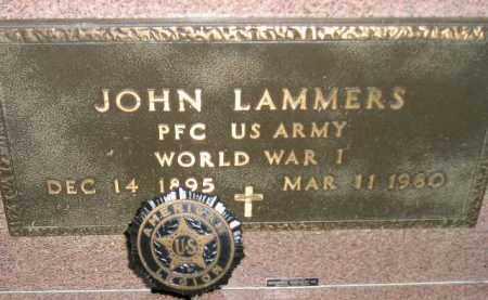 LAMMERS, JOHN (WW I) - Deuel County, South Dakota   JOHN (WW I) LAMMERS - South Dakota Gravestone Photos