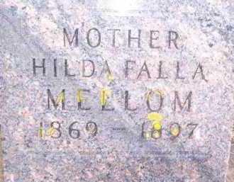 MELLOM, HILDA FALLA - Deuel County, South Dakota | HILDA FALLA MELLOM - South Dakota Gravestone Photos