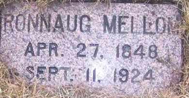 MELLOM, RONNAUG - Deuel County, South Dakota | RONNAUG MELLOM - South Dakota Gravestone Photos