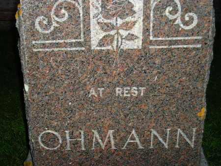 OHMANN, FAMILY STONE - Deuel County, South Dakota | FAMILY STONE OHMANN - South Dakota Gravestone Photos
