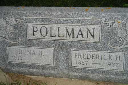 POLLMAN, DENA H. - Deuel County, South Dakota | DENA H. POLLMAN - South Dakota Gravestone Photos