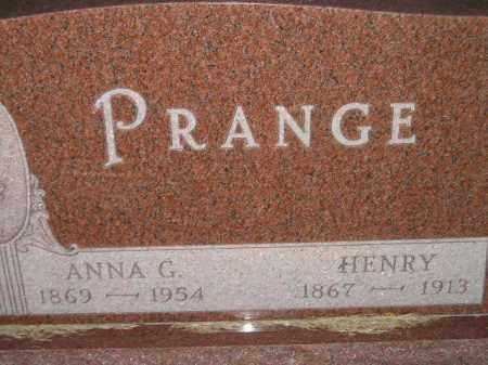 PRANGE, ANNA G. - Deuel County, South Dakota | ANNA G. PRANGE - South Dakota Gravestone Photos