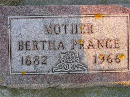 PRANGE, BERTHA - Deuel County, South Dakota | BERTHA PRANGE - South Dakota Gravestone Photos