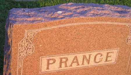 PRANGE, FAMILY STONE - Deuel County, South Dakota | FAMILY STONE PRANGE - South Dakota Gravestone Photos