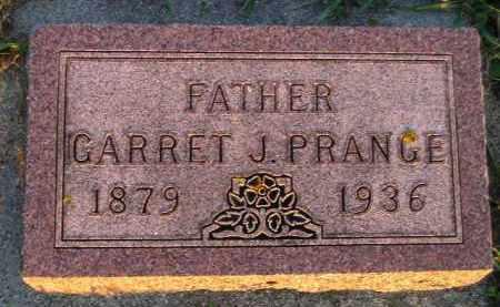 PRANGE, GARRET J. - Deuel County, South Dakota   GARRET J. PRANGE - South Dakota Gravestone Photos