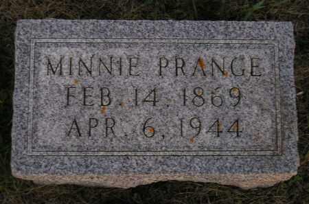 PRANGE, MINNIE - Deuel County, South Dakota | MINNIE PRANGE - South Dakota Gravestone Photos