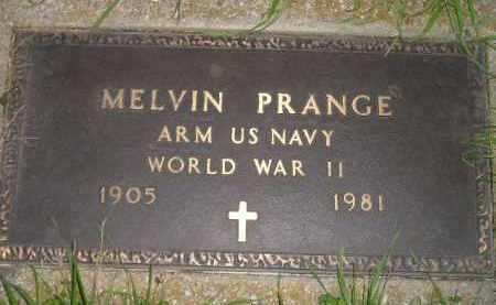 PRANGE, MELVIN (WW II) - Deuel County, South Dakota   MELVIN (WW II) PRANGE - South Dakota Gravestone Photos