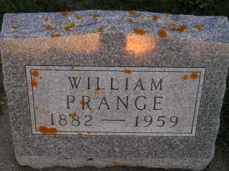 PRANGE, WILLIAM - Deuel County, South Dakota | WILLIAM PRANGE - South Dakota Gravestone Photos