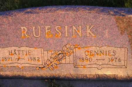 RUESINK, HATTIE - Deuel County, South Dakota | HATTIE RUESINK - South Dakota Gravestone Photos