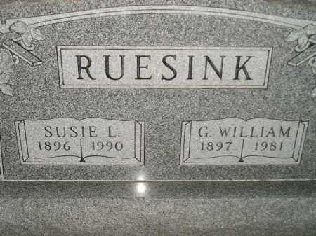 RUESINK, SUSIE L. - Deuel County, South Dakota | SUSIE L. RUESINK - South Dakota Gravestone Photos
