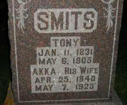 SMITS, TONY - Deuel County, South Dakota   TONY SMITS - South Dakota Gravestone Photos