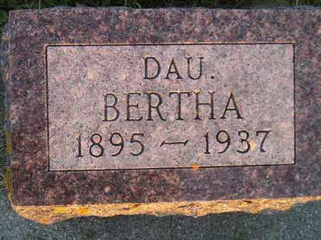 TEGANTVOORT, BERTHA - Deuel County, South Dakota   BERTHA TEGANTVOORT - South Dakota Gravestone Photos