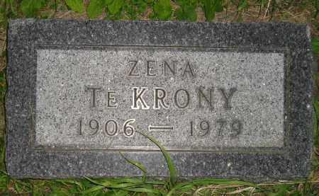 TE KRONY, ZENA - Deuel County, South Dakota | ZENA TE KRONY - South Dakota Gravestone Photos