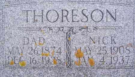 THORESON, DAD - Deuel County, South Dakota | DAD THORESON - South Dakota Gravestone Photos