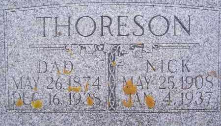 THORESON, NICK - Deuel County, South Dakota | NICK THORESON - South Dakota Gravestone Photos