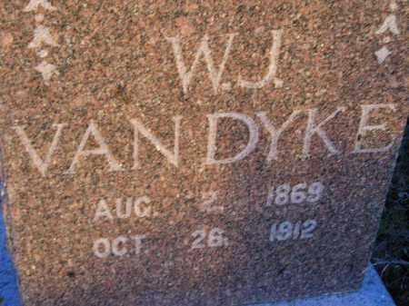 VAN DYKE, W.J. - Deuel County, South Dakota | W.J. VAN DYKE - South Dakota Gravestone Photos