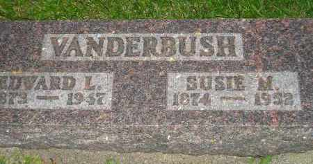 VANDERBUSH, EDWARD L. - Deuel County, South Dakota | EDWARD L. VANDERBUSH - South Dakota Gravestone Photos