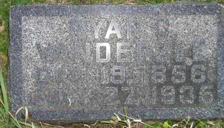 VANDERZEE, RYAN G. - Deuel County, South Dakota | RYAN G. VANDERZEE - South Dakota Gravestone Photos