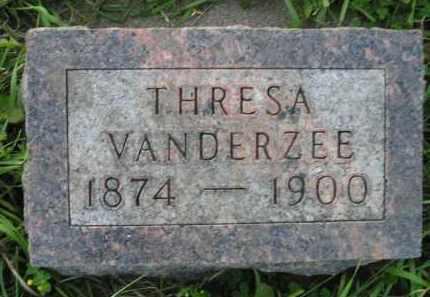 VANDERZEE, THRESA - Deuel County, South Dakota | THRESA VANDERZEE - South Dakota Gravestone Photos