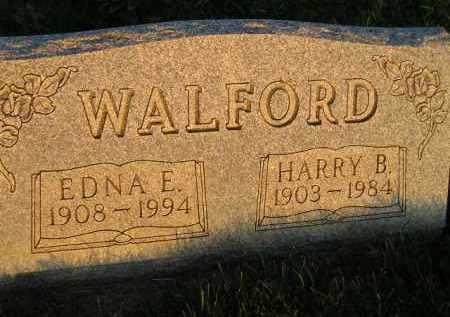 WALFORD, EDNA E. - Deuel County, South Dakota   EDNA E. WALFORD - South Dakota Gravestone Photos