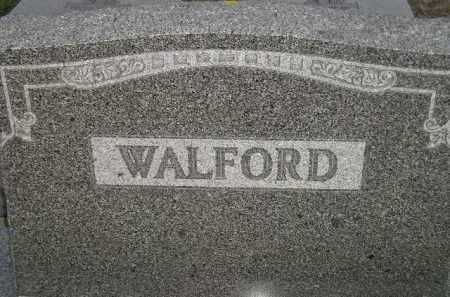 WALFORD, FAMILY STONE - Deuel County, South Dakota | FAMILY STONE WALFORD - South Dakota Gravestone Photos