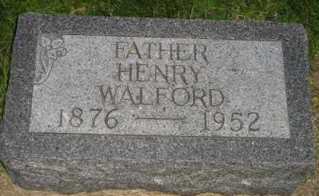 WALFORD, HENRY - Deuel County, South Dakota | HENRY WALFORD - South Dakota Gravestone Photos