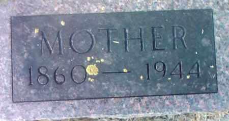 WAYNE, MOTHER - Deuel County, South Dakota   MOTHER WAYNE - South Dakota Gravestone Photos