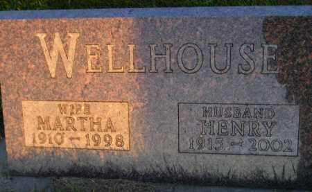 WELLHOUSE, MARTHA - Deuel County, South Dakota   MARTHA WELLHOUSE - South Dakota Gravestone Photos