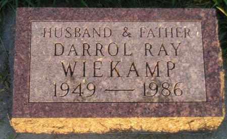 WIEKAMP, DARROL RAY - Deuel County, South Dakota | DARROL RAY WIEKAMP - South Dakota Gravestone Photos