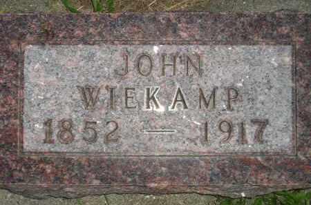 WIEKAMP, JOHN - Deuel County, South Dakota | JOHN WIEKAMP - South Dakota Gravestone Photos