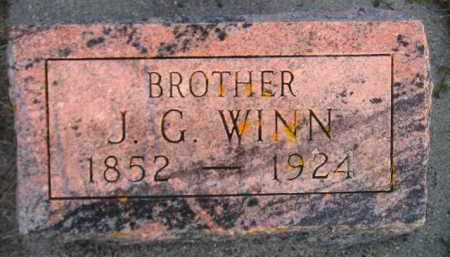 WINN, J.G. - Deuel County, South Dakota | J.G. WINN - South Dakota Gravestone Photos
