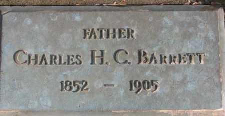 BARRETT, CHARLES H.C. - Douglas County, South Dakota | CHARLES H.C. BARRETT - South Dakota Gravestone Photos
