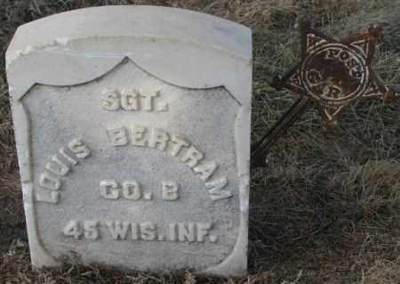 BERTRAM, LOUIS - Douglas County, South Dakota   LOUIS BERTRAM - South Dakota Gravestone Photos
