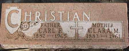 CHRISTIAN, CLARA M. - Douglas County, South Dakota | CLARA M. CHRISTIAN - South Dakota Gravestone Photos