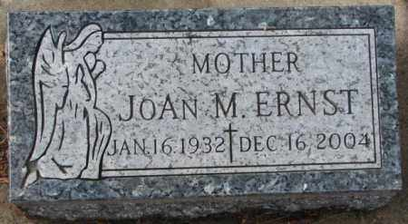 ERNST, JOAN M. (FOOTSTONE) - Douglas County, South Dakota | JOAN M. (FOOTSTONE) ERNST - South Dakota Gravestone Photos